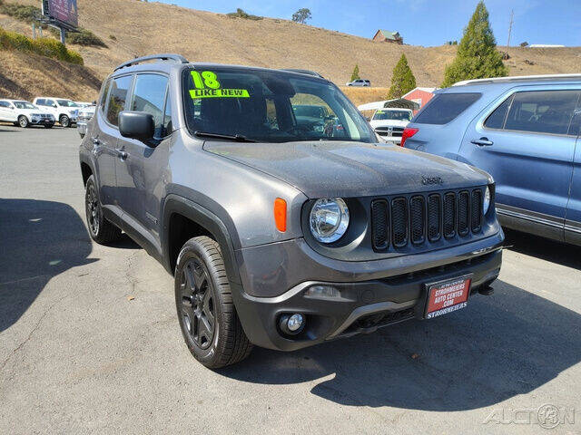 2018 Jeep Renegade for sale at Guy Strohmeiers Auto Center in Lakeport CA