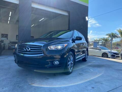2014 Infiniti QX60 for sale at GCR MOTORSPORTS in Hollywood FL