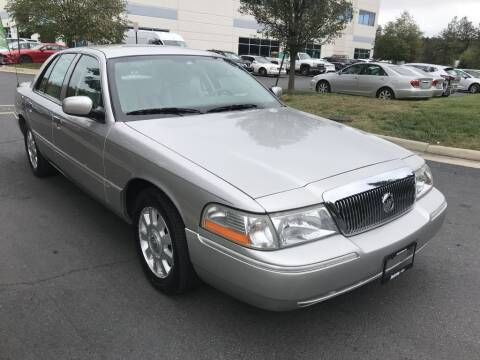 2005 Mercury Grand Marquis for sale at Dotcom Auto in Chantilly VA