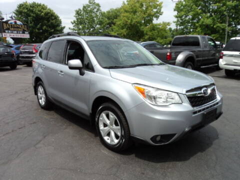 2016 Subaru Forester for sale at BATTENKILL MOTORS in Greenwich NY
