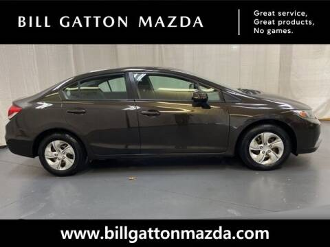2013 Honda Civic for sale at Bill Gatton Used Cars - BILL GATTON ACURA MAZDA in Johnson City TN