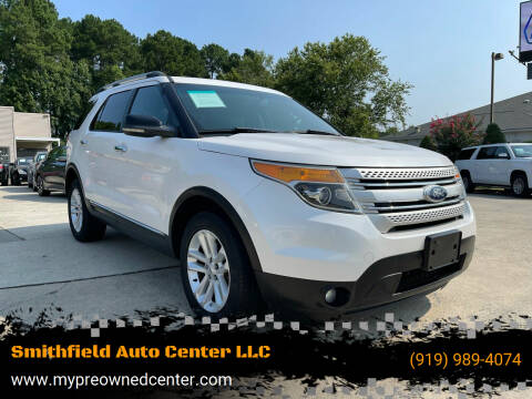 2012 Ford Explorer for sale at Smithfield Auto Center LLC in Smithfield NC
