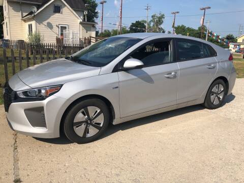 2019 Hyundai Ioniq Hybrid for sale at Kachar's Used Cars Inc in Monroe MI
