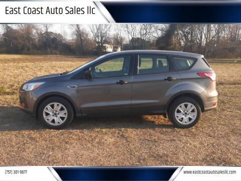 2014 Ford Escape for sale at East Coast Auto Sales llc in Virginia Beach VA