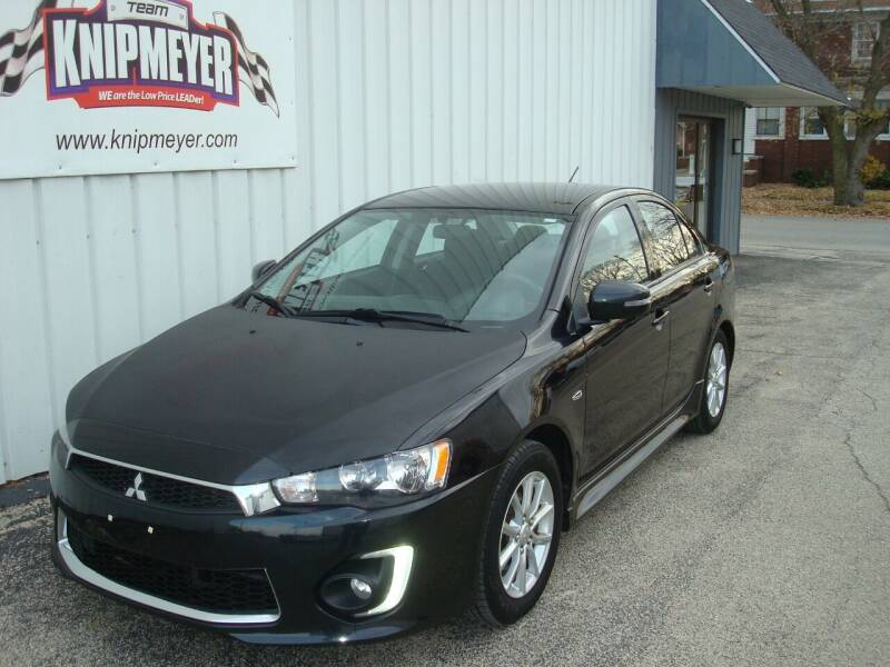 2016 Mitsubishi Lancer for sale at Team Knipmeyer in Beardstown IL