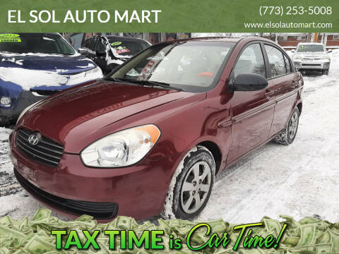 2009 Hyundai Accent for sale at EL SOL AUTO MART in Franklin Park IL