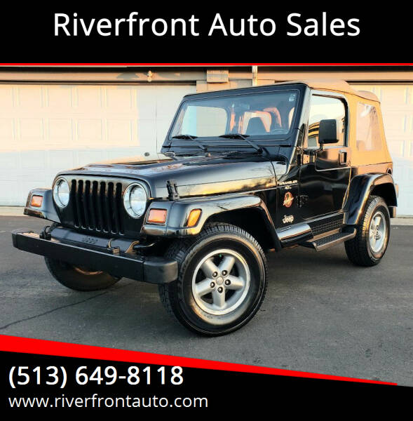 1997 Jeep Wrangler for sale at Riverfront Auto Sales in Middletown OH