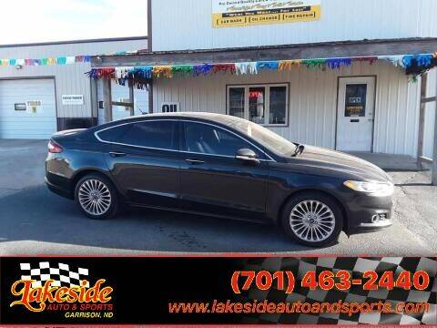2014 Ford Fusion for sale at Lakeside Auto & Sports in Garrison ND