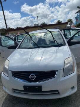 2011 Nissan Sentra for sale at DAN'S DEALS ON WHEELS in Davie FL