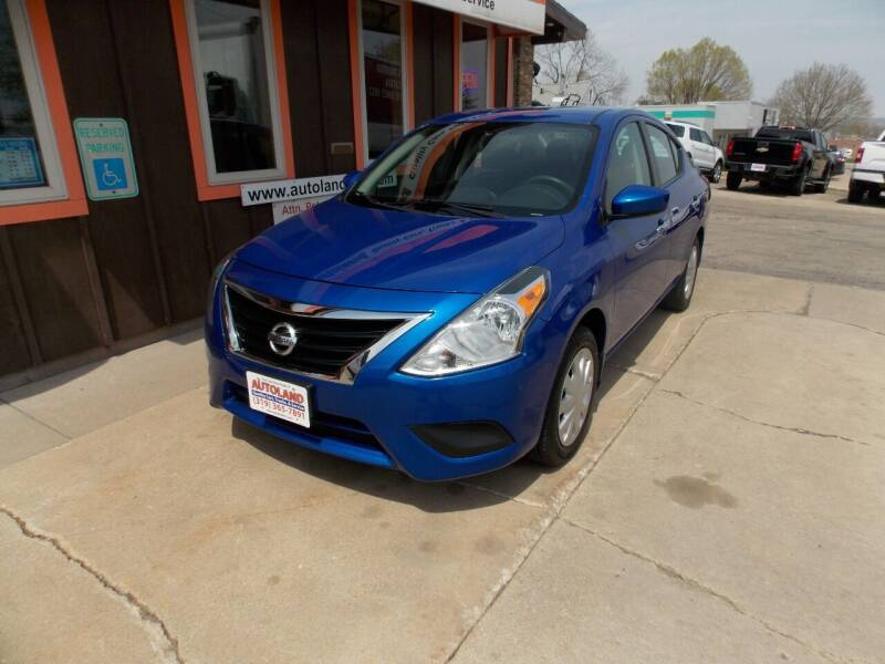 2017 Nissan Versa for sale at Autoland in Cedar Rapids IA