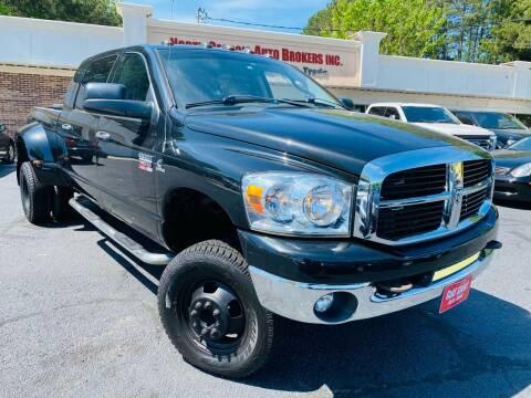 2007 Dodge Ram Pickup 3500 for sale at North Georgia Auto Brokers in Snellville GA