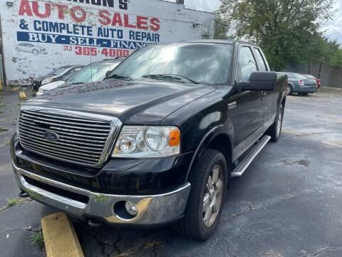 2008 Ford F-150 for sale at Simon's Auto Sales in Detroit MI
