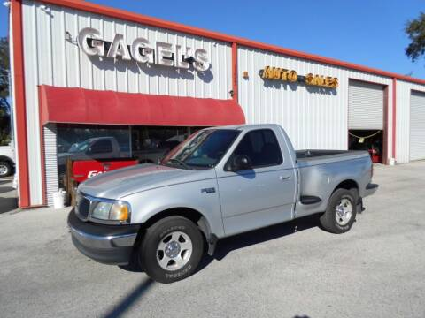 2003 Ford F-150 for sale at Gagel's Auto Sales in Gibsonton FL