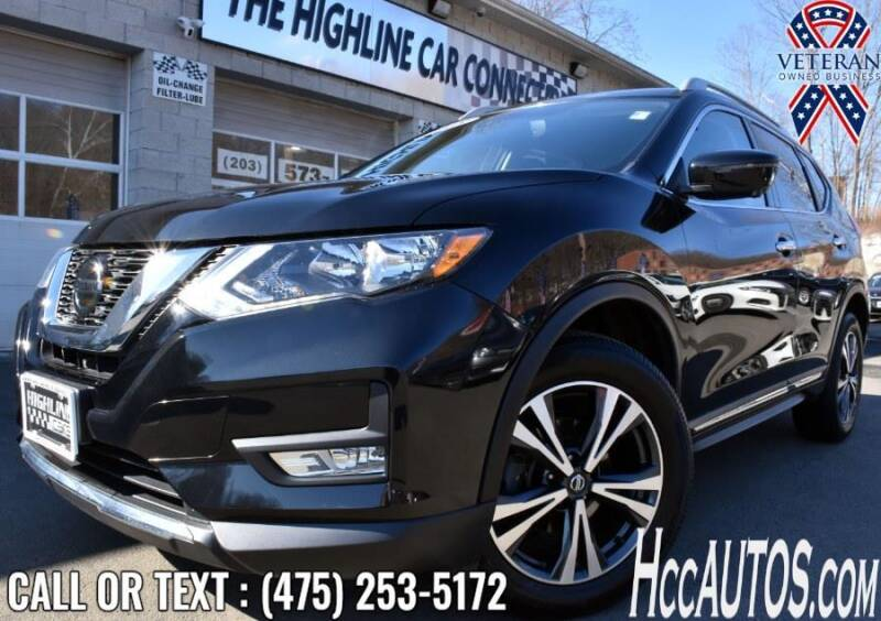 2018 Nissan Rogue for sale at The Highline Car Connection in Waterbury CT