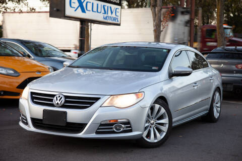 2010 Volkswagen CC for sale at EXCLUSIVE MOTORS in Virginia Beach VA