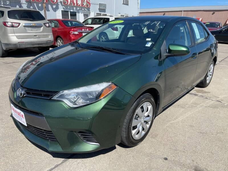 2015 Toyota Corolla for sale at De Anda Auto Sales in South Sioux City NE