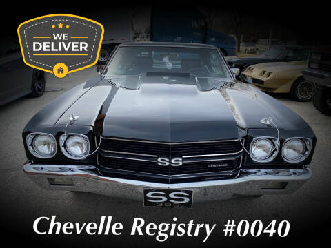 1970 Chevrolet Chevelle for sale at MGM CLASSIC CARS in Addison IL