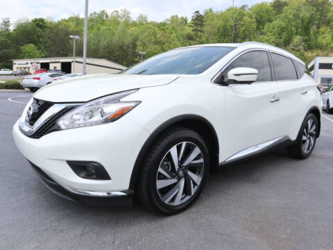 2018 Nissan Murano for sale at RUSTY WALLACE KIA OF KNOXVILLE in Knoxville TN