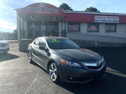 2013 Acura ILX for sale at Choice Motors of Salt Lake City in West Valley  City UT