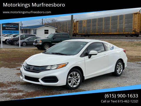 2015 Honda Civic for sale at Motorkings Murfreesboro in Murfreesboro TN