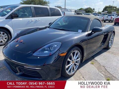2017 Porsche 718 Boxster for sale at JumboAutoGroup.com in Hollywood FL