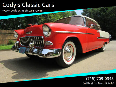 1955 Chevrolet Bel Air for sale at Cody's Classic Cars in Stanley WI