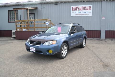 2006 Subaru Outback for sale at Dave's Auto Sales in Winthrop MN