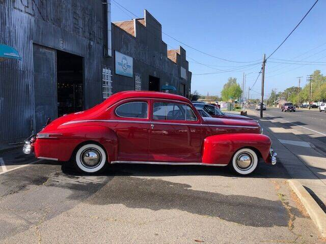 1947 Lincoln Club Coupe for sale at Route 40 Classics in Citrus Heights CA