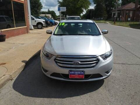 2018 Ford Taurus for sale at Albia Motor Co in Albia IA