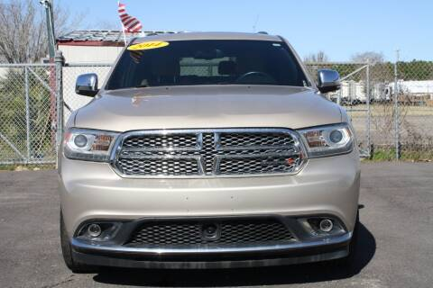 2014 Dodge Durango for sale at Fabela's Auto Sales Inc. in Dickinson TX