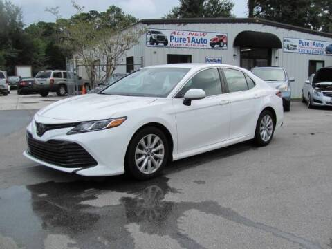2018 Toyota Camry for sale at Pure 1 Auto in New Bern NC