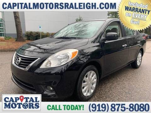 2013 Nissan Versa for sale at Capital Motors in Raleigh NC