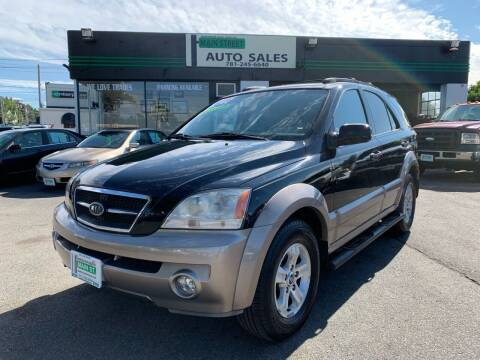 2004 Kia Sorento for sale at Wakefield Auto Sales of Main Street Inc. in Wakefield MA