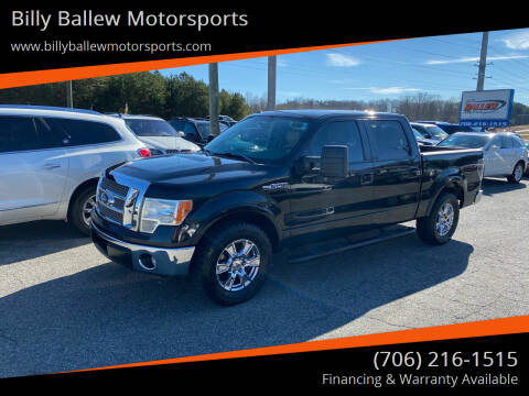 2012 Ford F-150 for sale at Billy Ballew Motorsports in Dawsonville GA