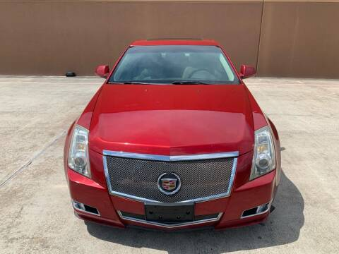 2010 Cadillac CTS for sale at ALL STAR MOTORS INC in Houston TX