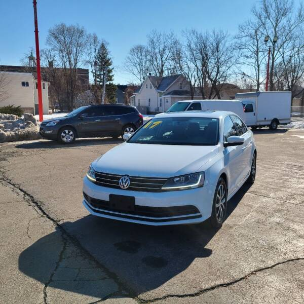 2017 Volkswagen Jetta for sale at Bibian Brothers Auto Sales & Service in Joliet IL
