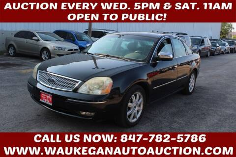2005 Ford Five Hundred for sale at Waukegan Auto Auction in Waukegan IL