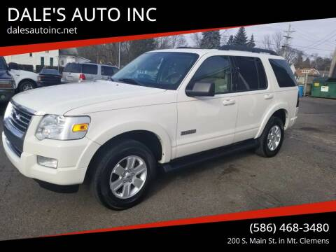 2008 Ford Explorer for sale at DALE'S AUTO INC in Mt Clemens MI