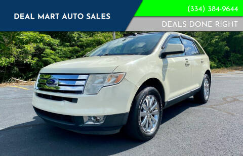 2007 Ford Edge for sale at Deal Mart Auto Sales in Phenix City AL