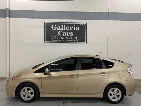 2010 Toyota Prius for sale at Galleria Cars in Dallas TX