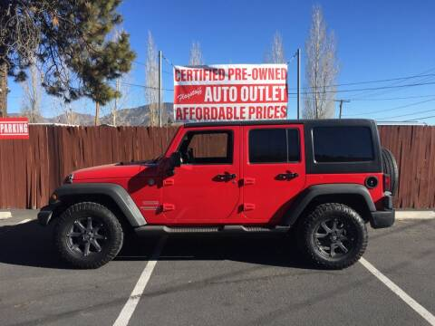 2011 Jeep Wrangler Unlimited for sale at Flagstaff Auto Outlet in Flagstaff AZ