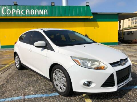 2012 Ford Focus for sale at Trans Copacabana Auto Sales in Hollywood FL