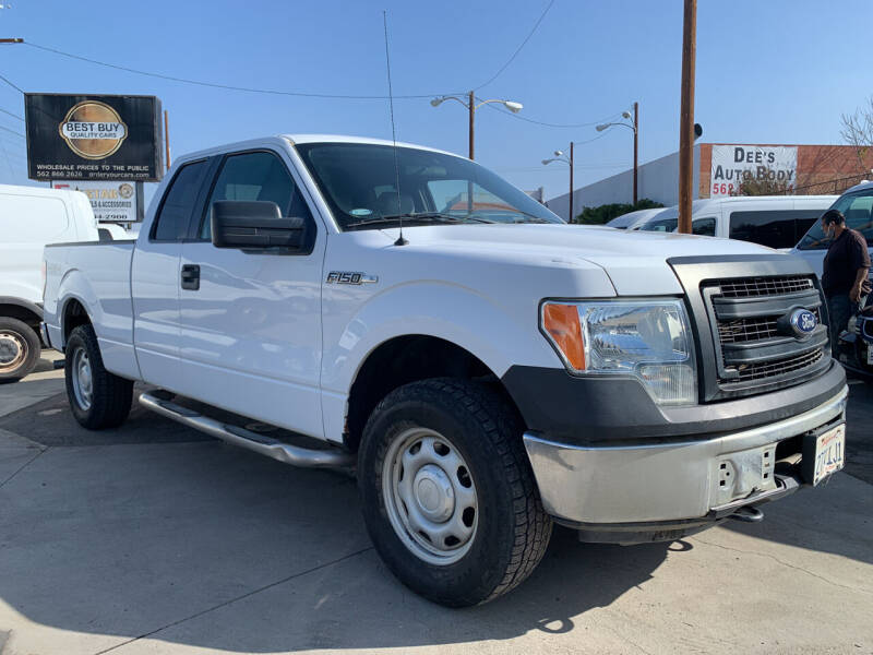 2014 Ford F-150 for sale at Best Buy Quality Cars in Bellflower CA
