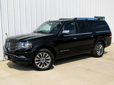 2017 Lincoln Navigator L for sale at Lyman Auto in Griswold IA