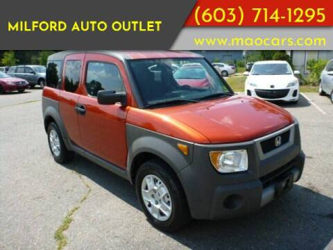 2004 Honda Element for sale at Milford Auto Outlet in Milford NH