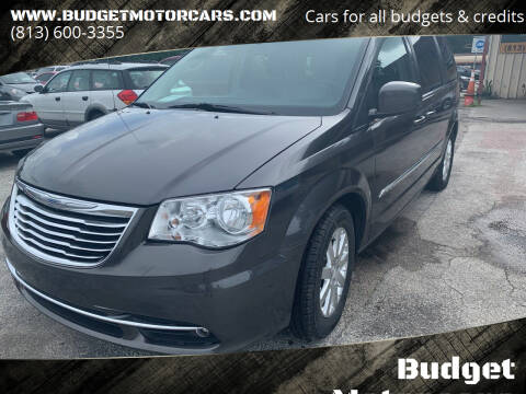 2015 Chrysler Town and Country for sale at Budget Motorcars in Tampa FL