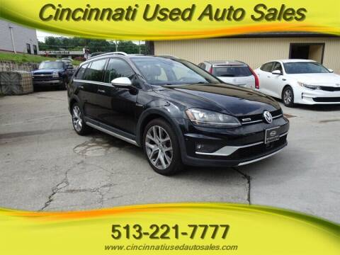 2017 Volkswagen Golf Alltrack for sale at Cincinnati Used Auto Sales in Cincinnati OH