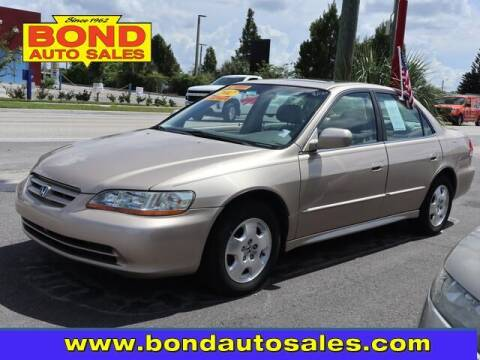 2002 Honda Accord for sale at Bond Auto Sales in Saint Petersburg FL