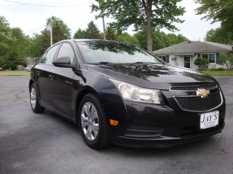 2012 Chevrolet Cruze for sale at Jay's Auto Sales Inc in Wadsworth OH