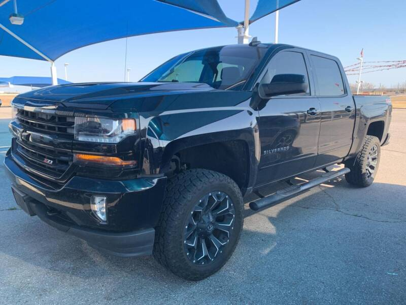 2016 Chevrolet Silverado 1500 for sale at JOHN HOLT AUTO GROUP, INC. in Chickasha OK